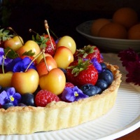 Late Summer Berry Tart