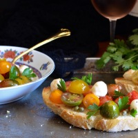 Heirloom Tomato Tartines