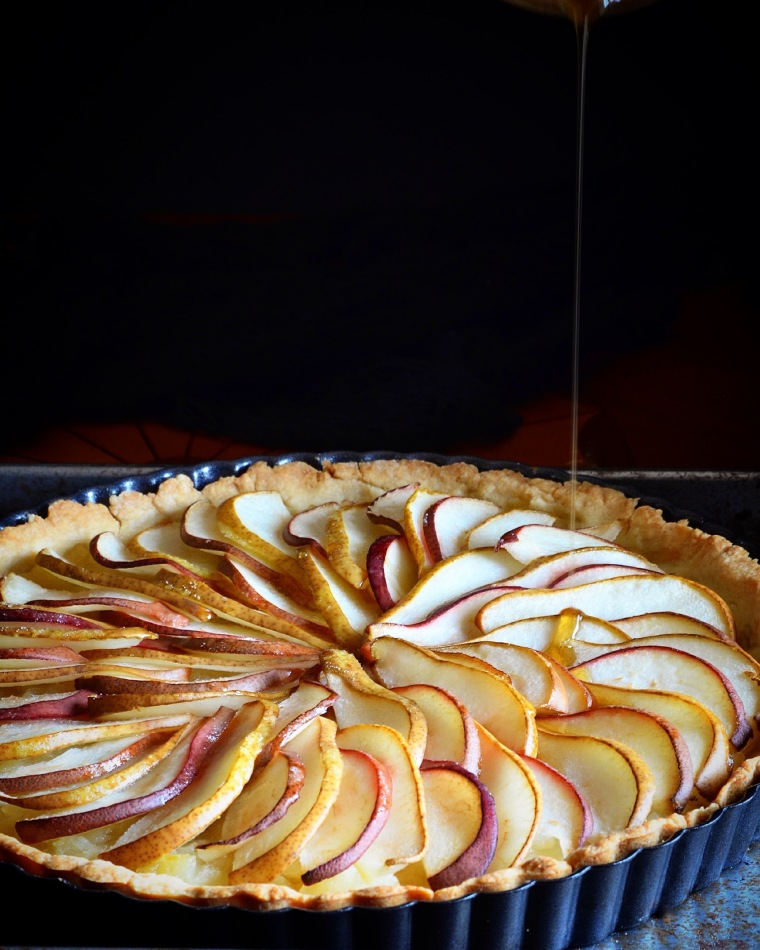 pear_honey_tart_baked