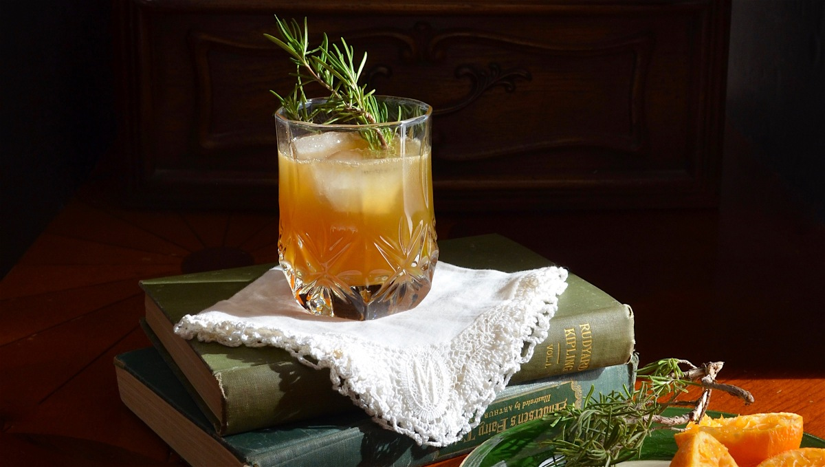 Clementine Bourbon Sour
