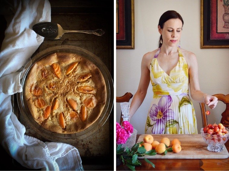 How to make Apricot Clafoutis