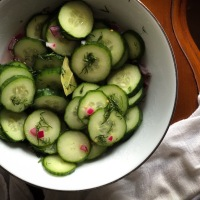 Quick and Easy Garden Pickles