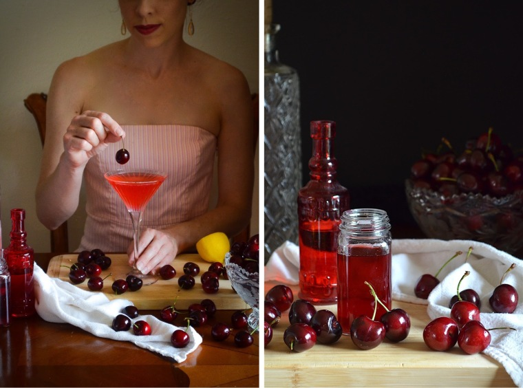 Cerise Chérie cocktail