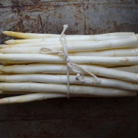 White Asparagus with Vinaigrette