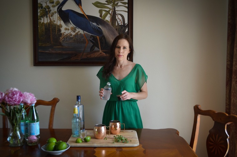 Rebecca Sherrow cocktails