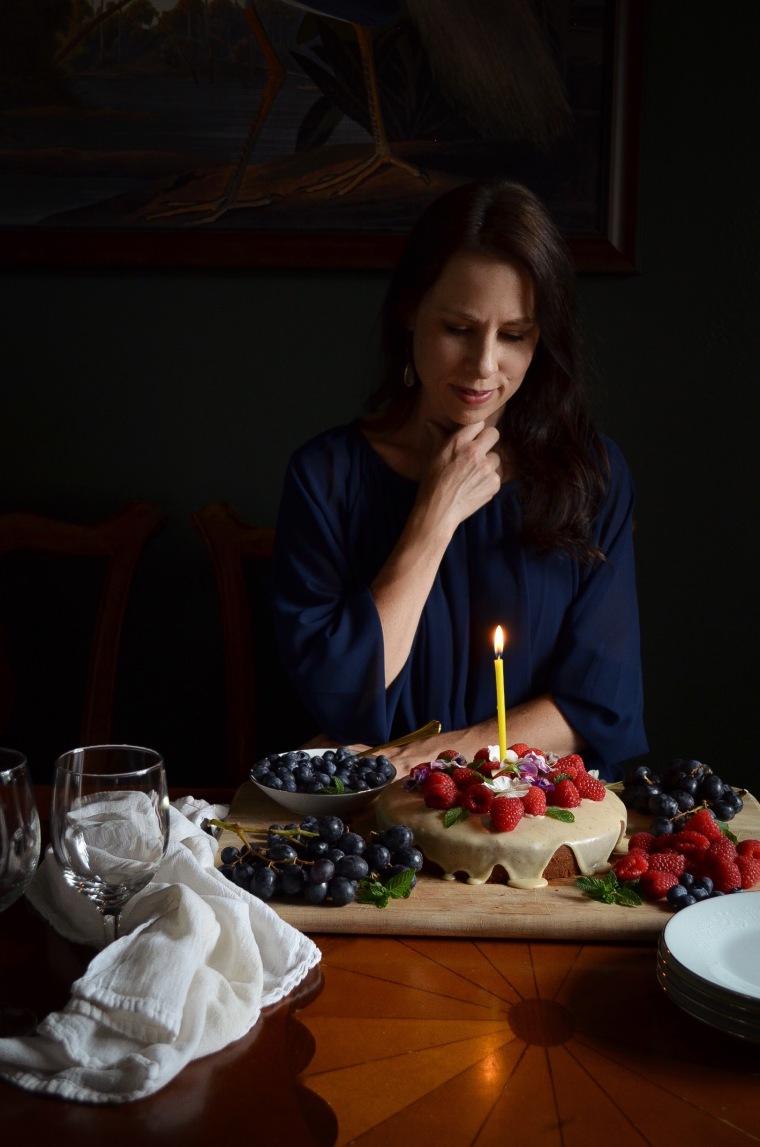 Rebecca Sherrow birthday cake