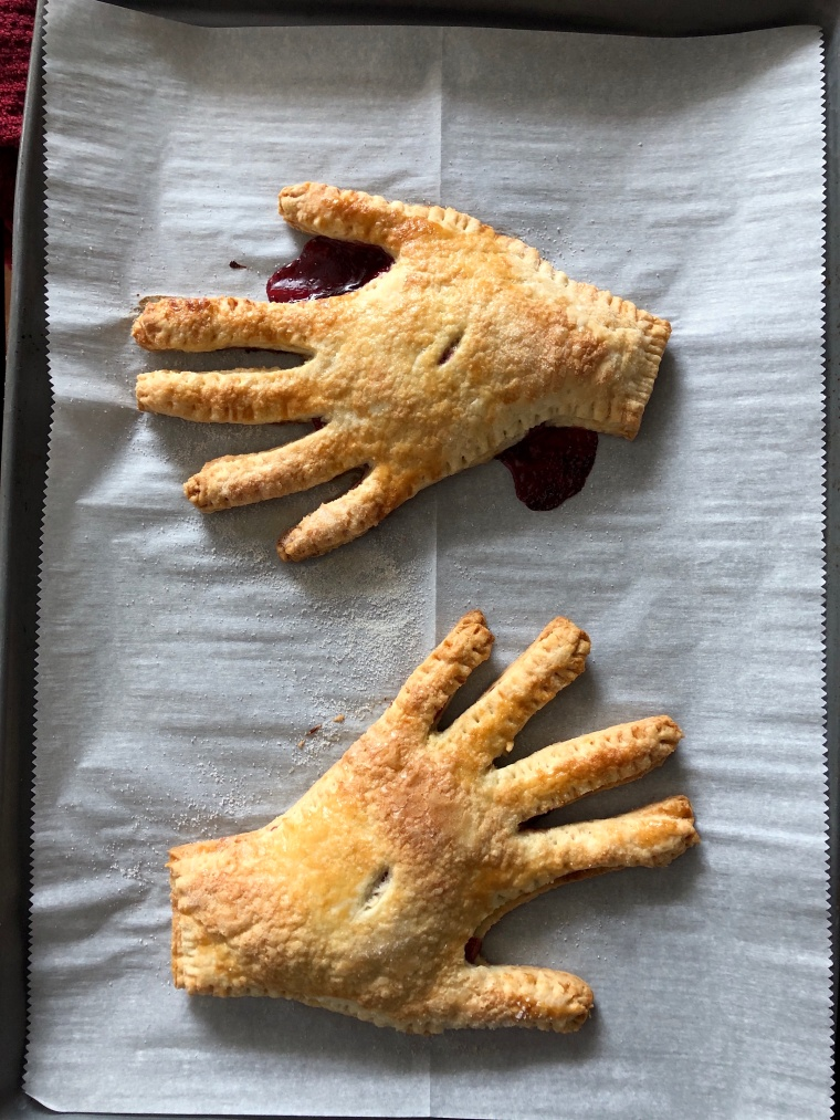 How to make Halloween Hand Pies