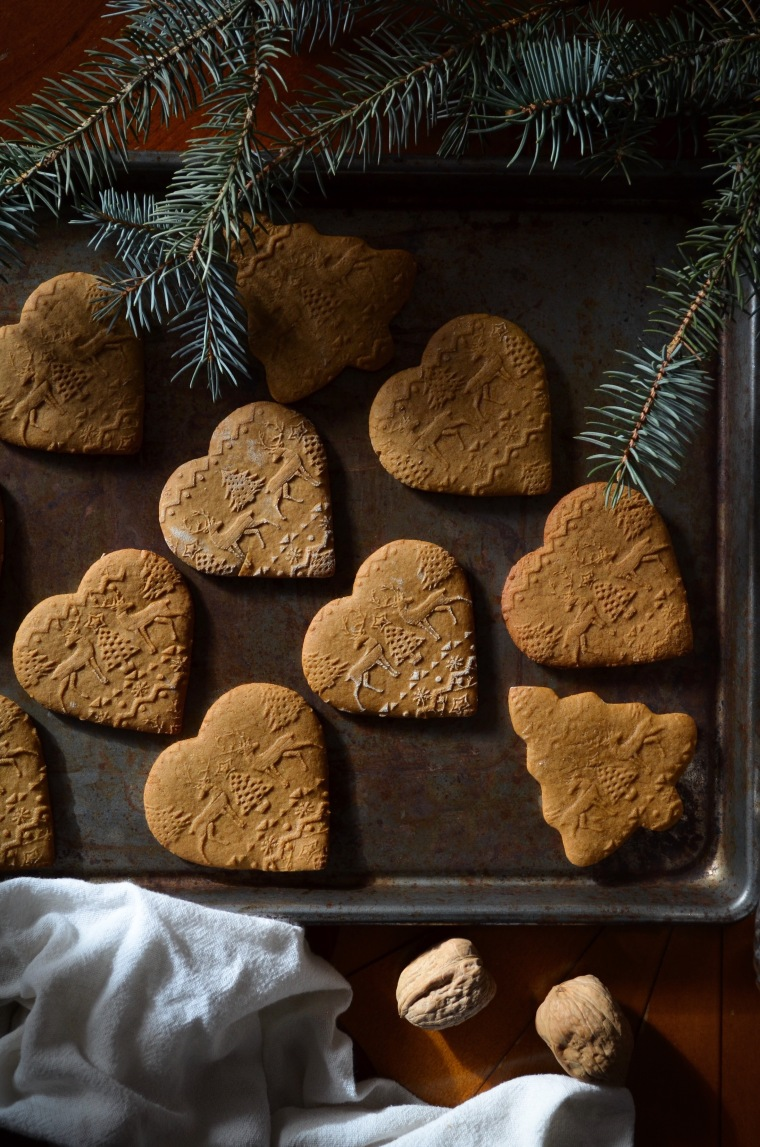 Embossed Gingerbread Cookies