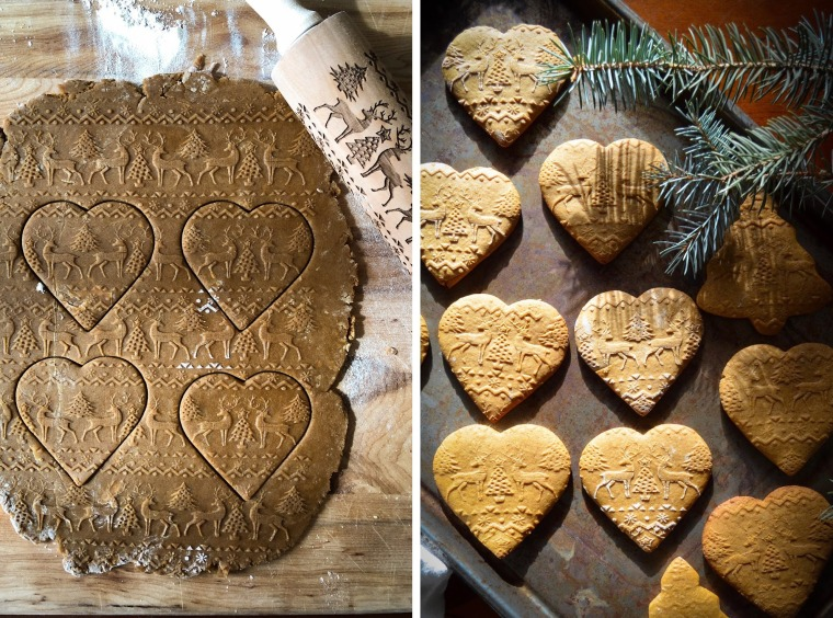 Embossed Christmas Cookies