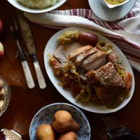 Normandy Pork with Apples