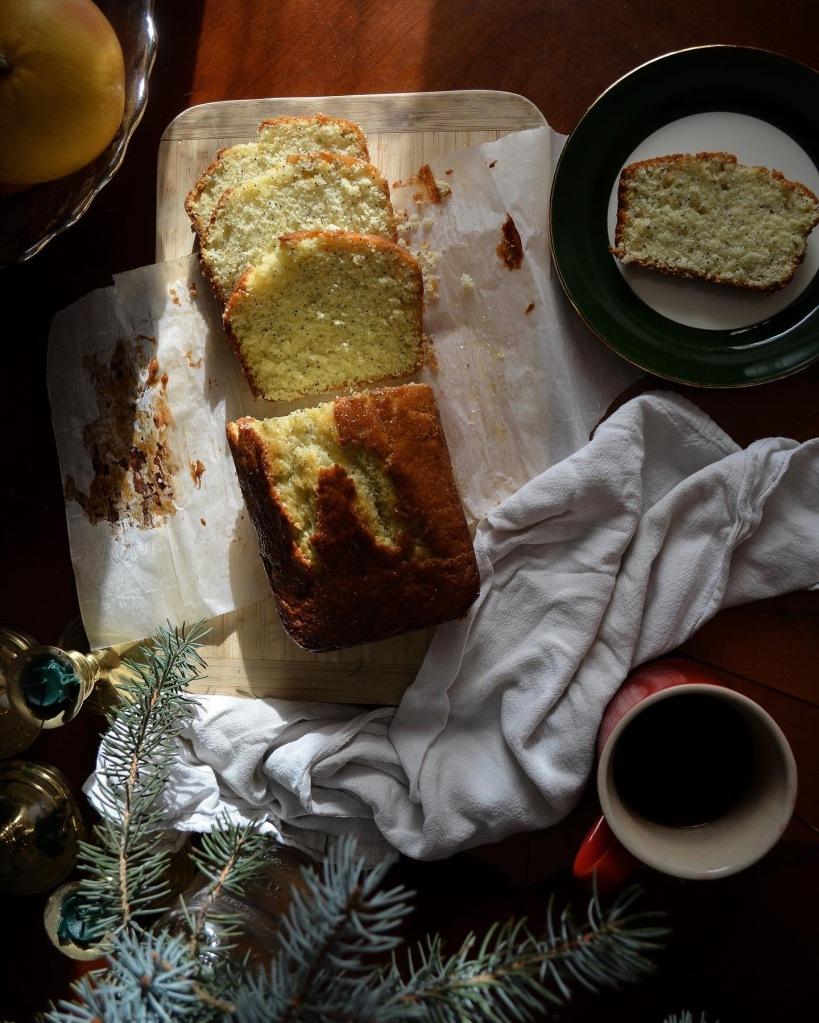 How to make poppyseed bread with orange glaze. High altitude recipe.