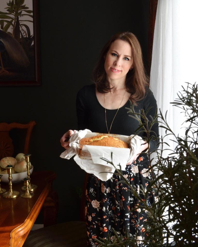 How to make poppyseed bread with orange glaze. High altitude recipe by Rebecca Sherrow.