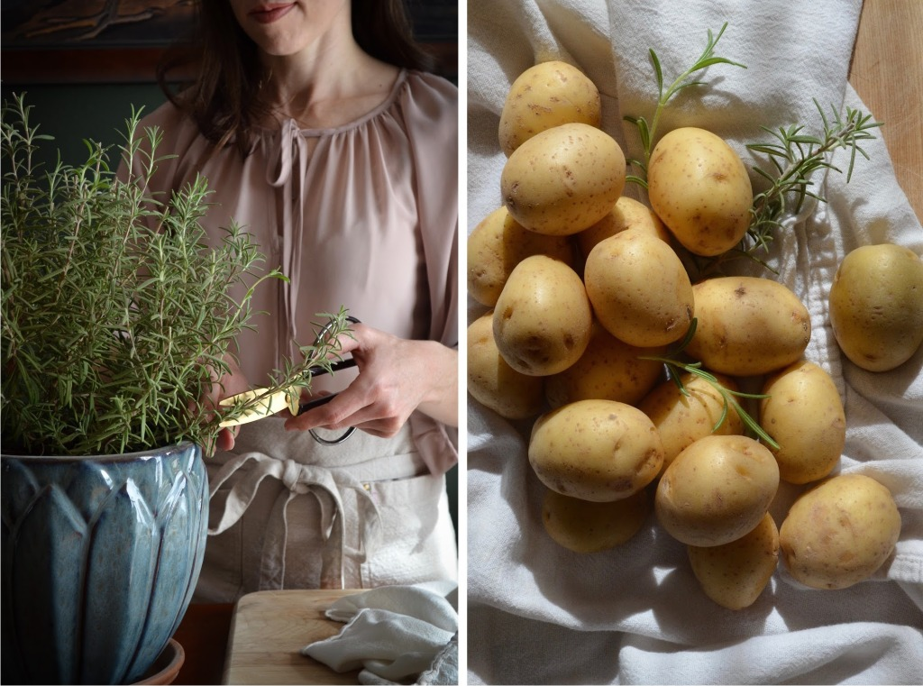 Recipe for rosemary roasted potatoes