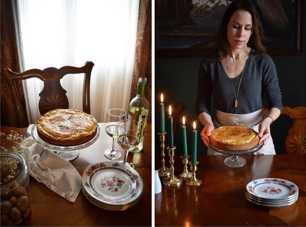 How to make gâteau basque