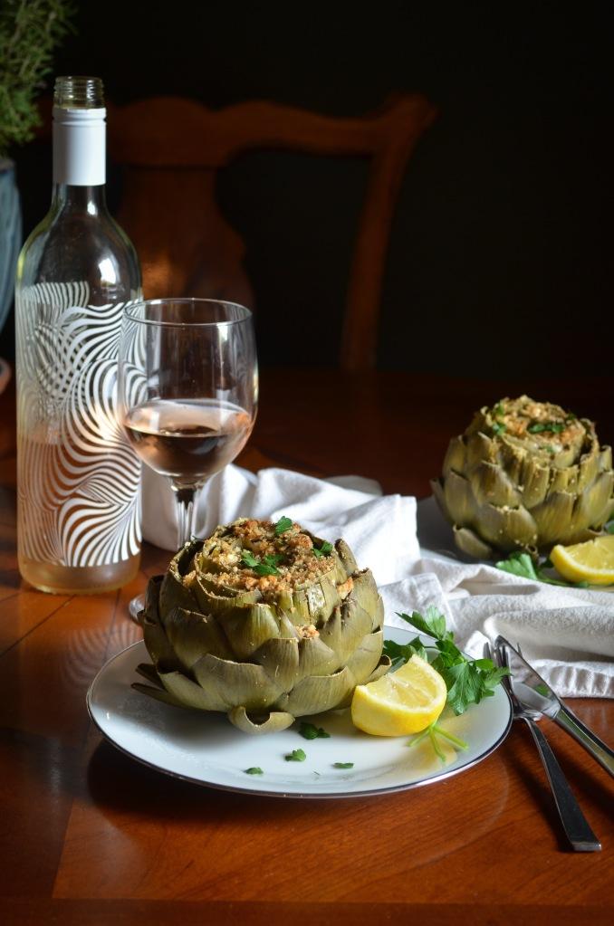 Greek stuffed artichokes recipe